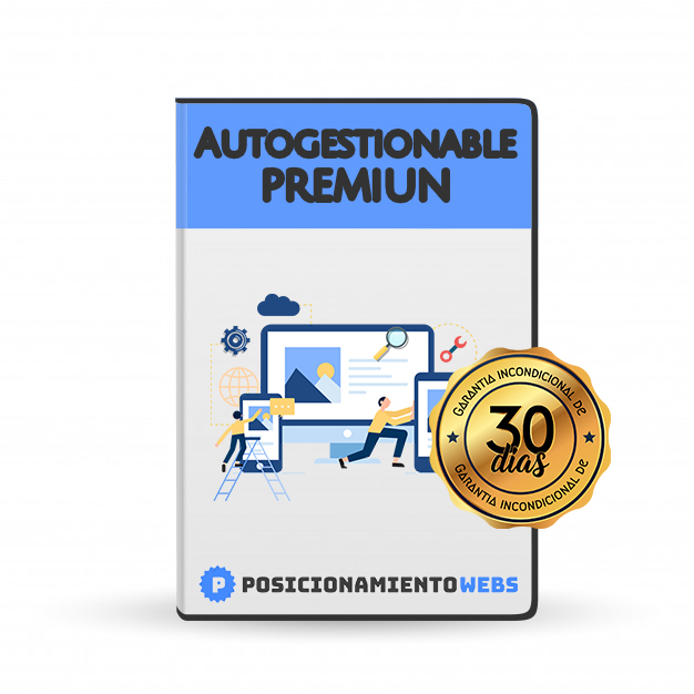Diseño Web Autogestionable <br>Premiun