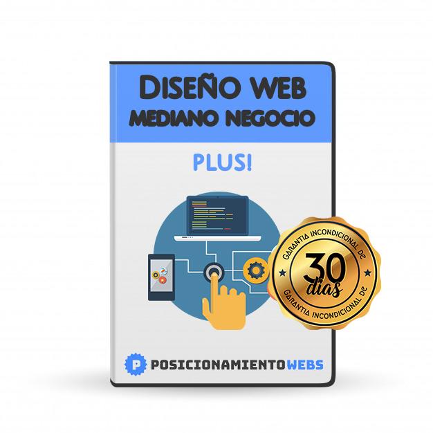 Diseño Web Mediano Negocio Plus!