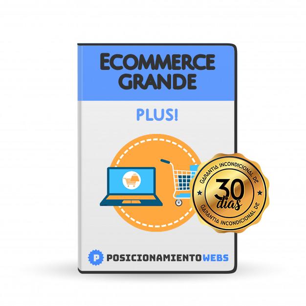 Diseño Web Ecommerce<br> Grande Plus!